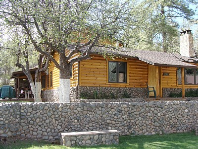 Payson cabin rental - Outside of Cabin