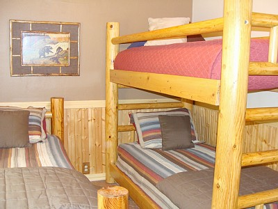 Payson cabin rental - Third bedroom